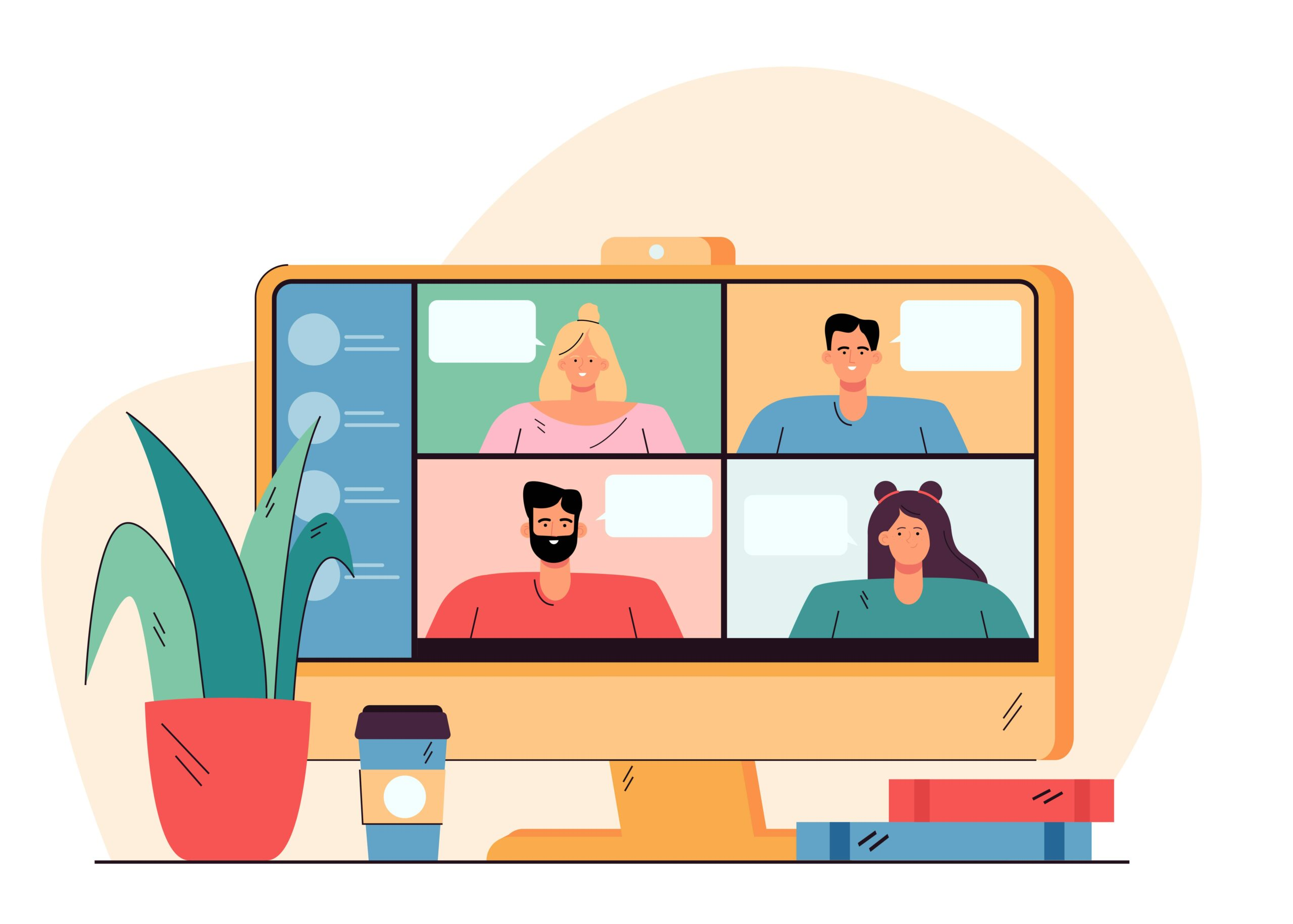 online conference call meetings